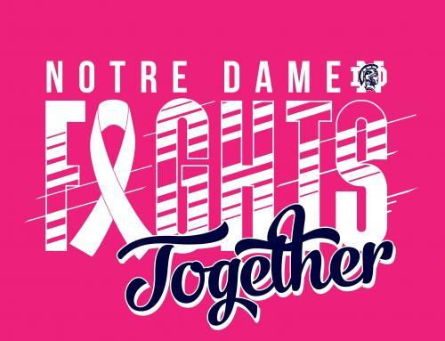 Notre Dame Pink Out Shirt order is now available!