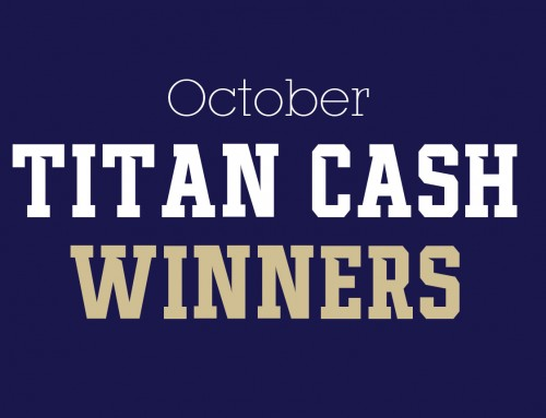 October Titan Cash Winners!