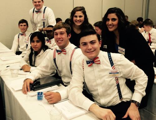 Notre Dame High School students attend the annual Ohio Model United Nations Assembly