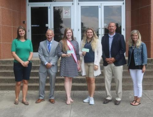 Miss Notre Dame donates to Bright Future Scholarship