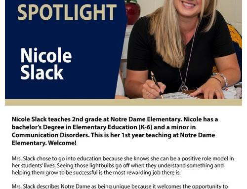 Faculty Spotlight: Nicole Slack