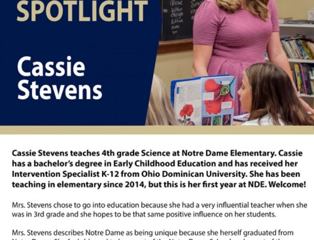 Ms. Stevens